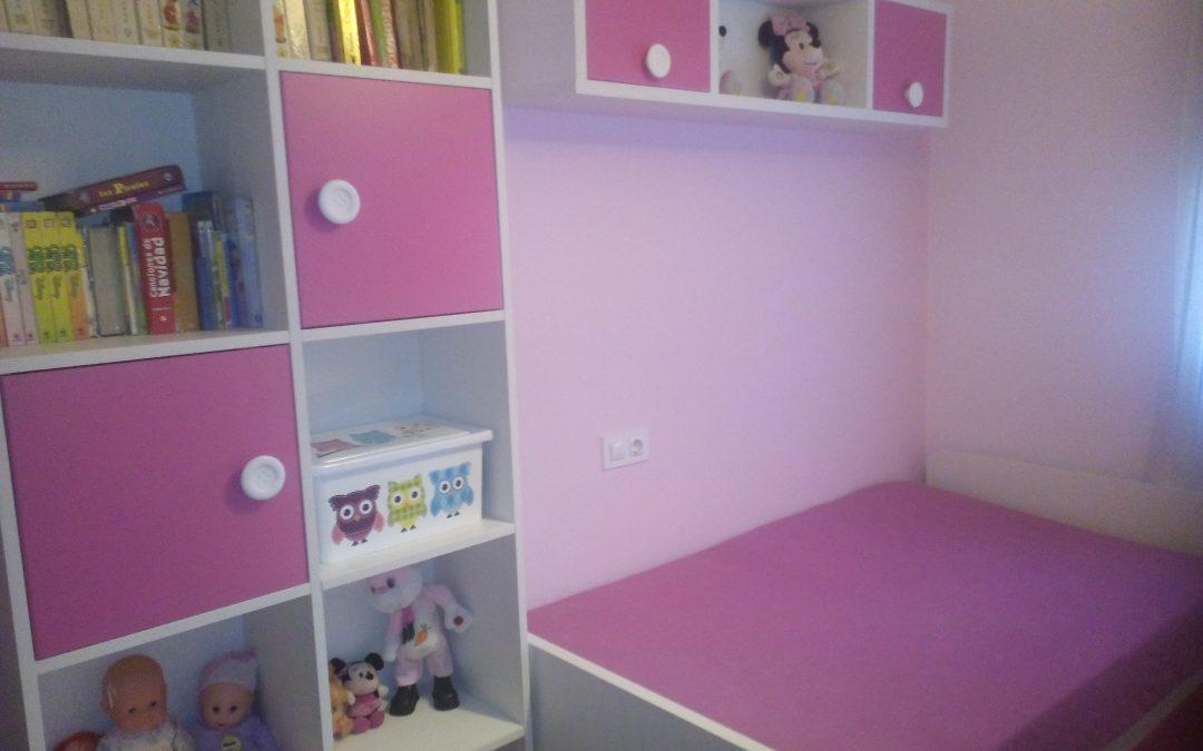dormitorio-niña-color-rosa