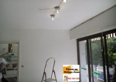 Pintura vivienda Marbella e instalación lamparas