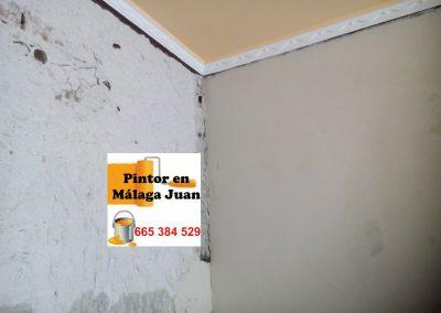 Alisado-paredes-avda. la Paloma- Málaga