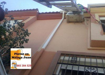 Pintor fachada adosado en Campanillas - Málaga