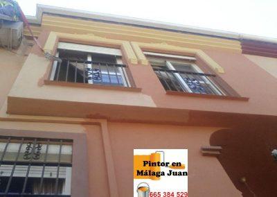 Pintores fachada adosado en Campanillas - Málaga