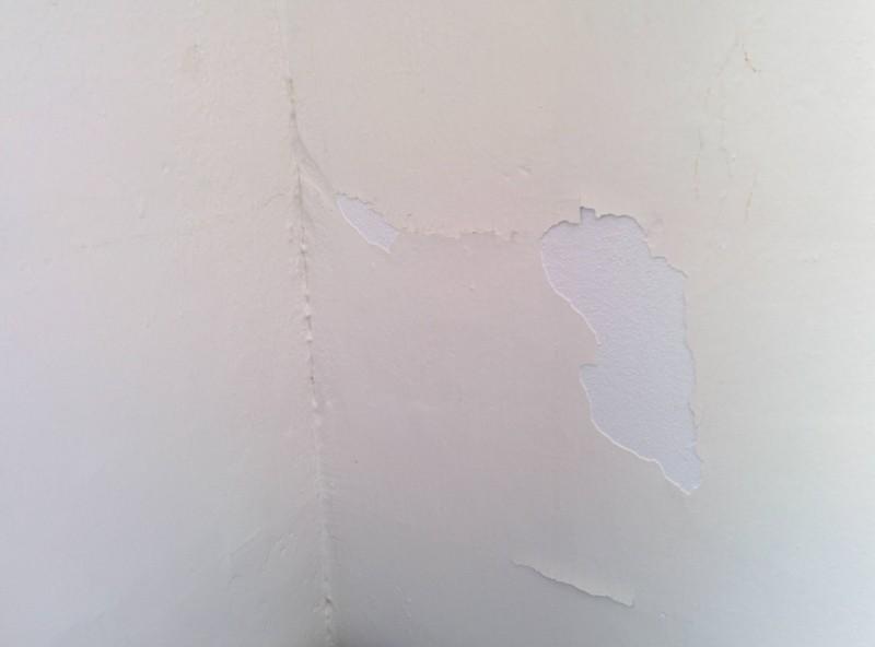 Recomendaciones para pintar una pared dañada