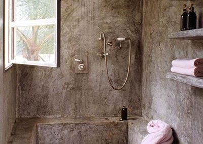 Baños rústicos –  Rustic bathrooms