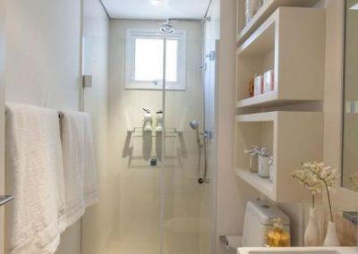 Baño pequeño con estilo