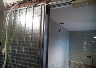 Reformas cocina puerta corredera Calle Juan Margarit Málaga -1