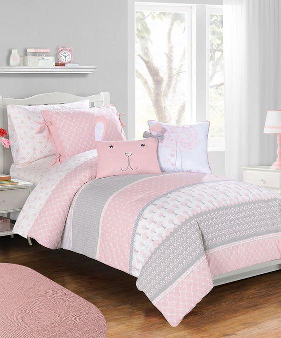 Dormitorios juveniles pintura for Decoracion habitacion nina gris y rosa